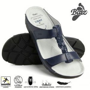 Dámské zdravotní nazouváky Batz Bori blue 2094a81249