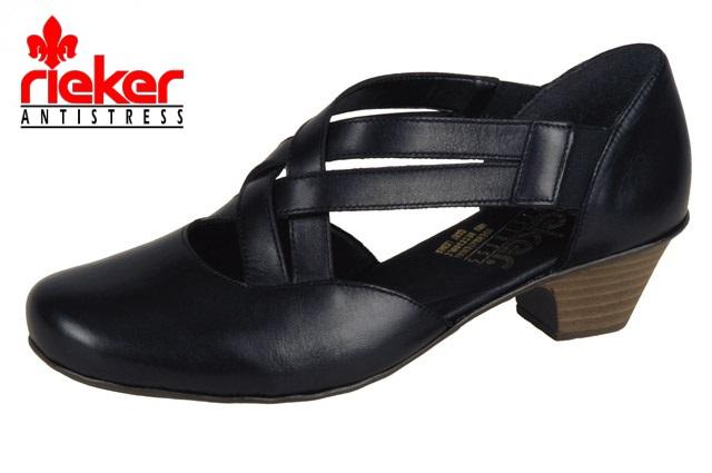 f3d1e32020 20206 Dámské lodičky Rieker 42354-00 černá