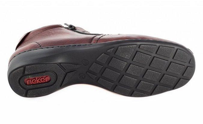 20365 Dámská kotníková obuv Rieker 58386-35 4fcbaccd48